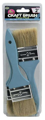 Royal Langnickel 6pc Large Area Paint Brushes 2 in Craft Hobby Brushes