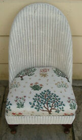 Lloyd Loom Nursing Chair ~ Refurbished