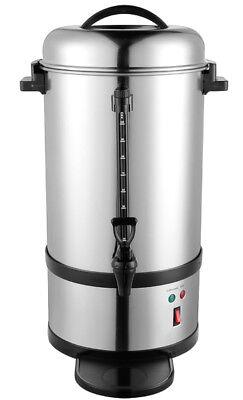 Edelstahl Kaffeemaschine Kaffeebereiter 9 Liter, ca. 72 Tassen - Gastronomie - Kaffeemaschine 9 Tasse
