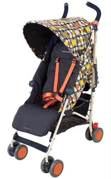 Preowned - Orla Kiely X MacLaren Umbrella Quest Stroller Limited Edition