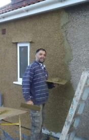 C,S BUILDING. Plastering, Pebble Dashing,Damp proofing,Guttering