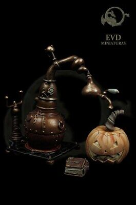 Steampunk Witch Accessories 2 15/16in El Viejo Dragon Miniaturas AS75.61