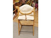 20% OFF ALL ITEMS SALE - Mothercare Wooden High Chair - Can Deliver For £19