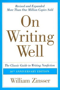 """writing textbook """"On Writing Well"""""""