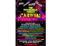 2 x Tickets for Psychedelic Forest Disco on Sat 17th Only **£70.00** at Kelburn castle