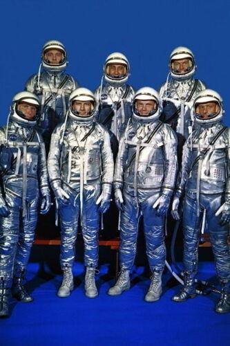 The Original Mercury Seven Astronauts PHOTO John Glenn Alan Shepard Gus Grissom