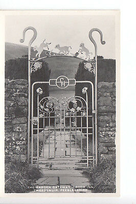 The Ornamental Garden Gateway, Crook Inn, Tweedsmuir, Peebles-shire