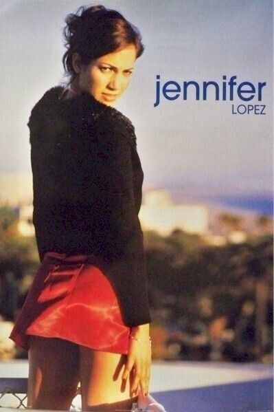 JENNIFER LOPEZ ~ SEXY SKIRT 24x34 PINUP POSTER NEW/ROLLED!