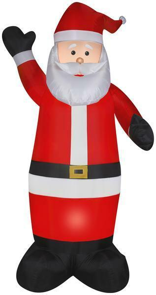 Gemmy 7' Airblown Santa Christmas Inflatable