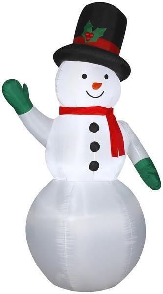Gemmy 7' Airblown Snowman Christmas Inflatable