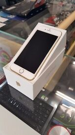 ***wITH rECEIPT -- AS NEW BOXED IPHONE 6s 16GB GOLD EE/VIRGIN***