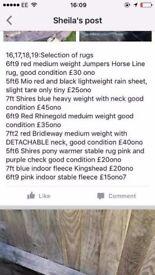 horse tack saddle for sale blankets
