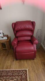 Ambassador Brisa Medium Rise and Recline adjustable chair