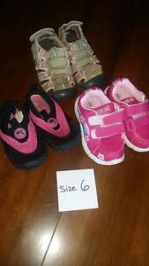Little Girls Shoes - SIZE 6 (Toddler)