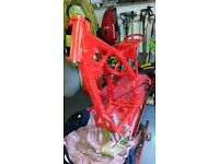 Wanted honda slr 650 frame with v5 /honda nx650 frame with v5honda xl600r frame with v5