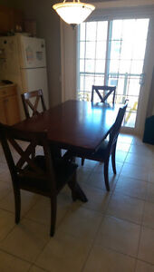 table & four chairs for sale