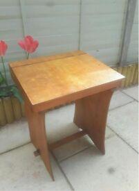 Child's Vintage Wooden Desk