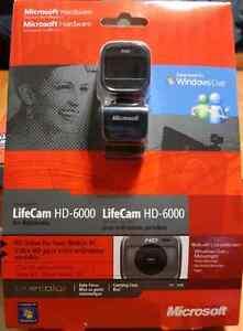 Caméra webcam pour ordinateur portable HD-6000