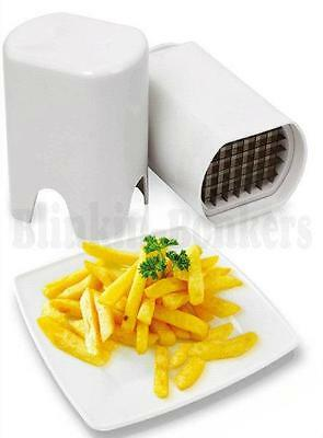 FRENCH FRIES FRY POTATO SLICE CUTTER CHIP VEGETABLE SKINNY THIN CHIPPER CHOPPER