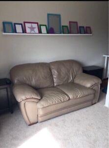 Palliser genuine leather Love seat