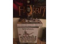Seraphon starter set, warhammer, Citadel essencials, Choas black spray, paints. Lizard men