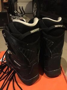 Size 8 Snowboard Boots and Bindings