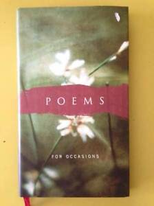 Poems For Occasions - like new , unused - pick up or post $2.55 Sydney City Inner Sydney Preview