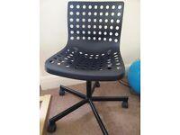 Office chair, Black IKEA