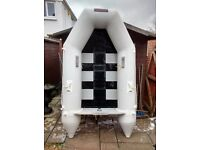 INFLATIBLE DINGHY 2.3 METER 2 / 3 MAN , TENDER , FISHING BOAT , RID , SIB , OUTBOARD MOTOR AVALIBLE