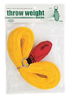 Weaver Leather Arborist 12 oz Throw ball with throw line