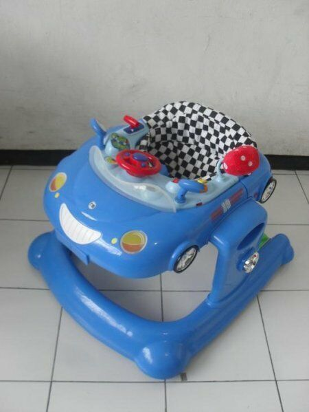 Mothercare 2 in 1 Baby Car Walker – Bouncer – Coupe Car