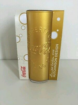 Coca Cola McDonald's Glas GOLD LIMITIERTE AUFLAGE (Neu & OVP !!!)
