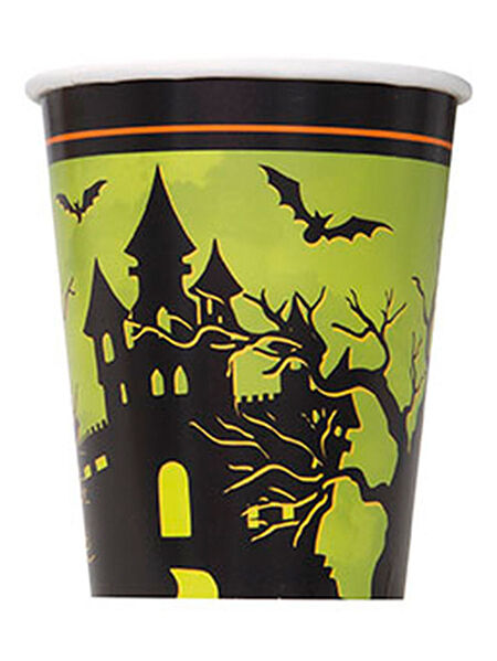 Haunted House Halloween Party Supplies Paper Cups