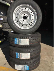 215/60R16 BRAND NEW ZETUM TYRE ON EXCELLENT CONDITION RIMS