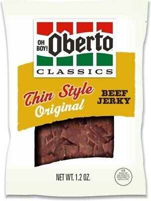 Oberto Thin Style Original Beef Jerky 3oz Single (Beef 5 Ounce Bag)