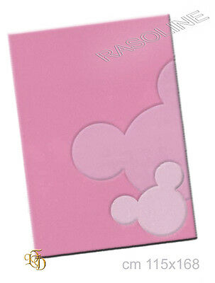 Tappeto Topolino Minnie Rosa 115 x 168 cm orig. Disney