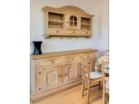 Hardwood sideboard set