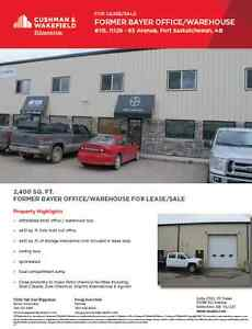 Affordable Fort Saskatchewan Industrial Condo for Lease or Sale