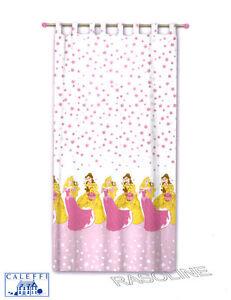 ... Velo Principesse Aurora Belle Rosa-Bianco Tende Caleffi Disney  eBay