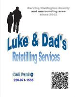Luke and Dad's Rototilling services (Guelph/Wellington)