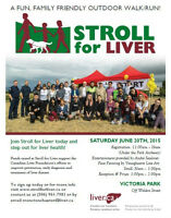 Stroll for Liver Moncton - Come out & support a great cause!