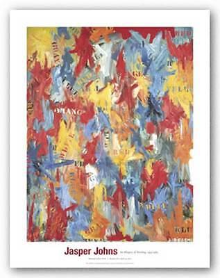 ABSTRACT ART PRINT False Start 1959 Jasper Johns
