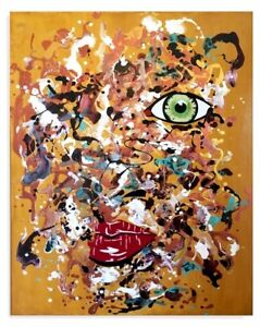 Acrylique sur toile/Acrylic painting