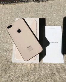 I Phone 8 Plus (Gold)