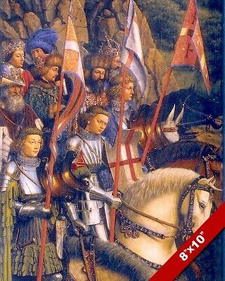 ORDER OF THE KNIGHTS OF CHRIST GHENT ALTARPIECE PAINTING ART REAL