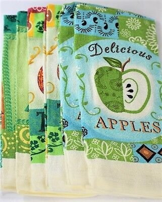 6 Piece Nostalgia Kitchen Towels