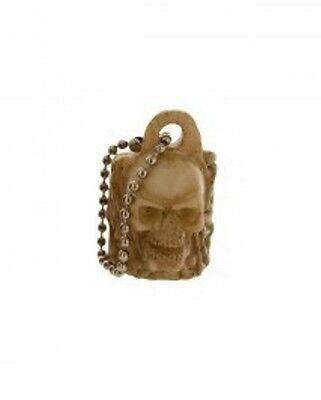 """Skull Cigar Cigarillo Blunt Cutter Splitter Keychain - Cuts 1/2"""" Cigars"""