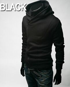 Hot Mens Fashion Slim Fit Sexy Top Designed Hoodies Jackets Coats 3Color 5Size