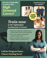 Train for a Rewarding Career as a Health Care Aide!