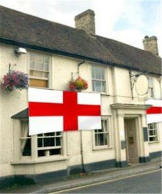 9x6ft MEGA GIANT ST GEORGE ENGLAND FLAT CROSS FOOTBALL WORLDCUP RUGBY WEDDING